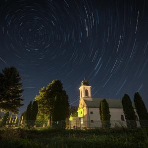 Kolotoč nad kostolom