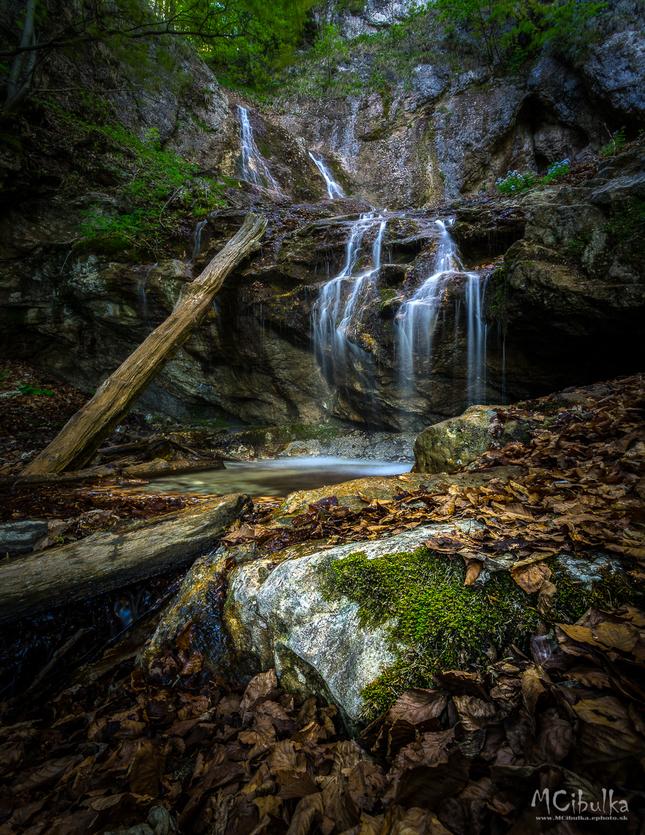 Vodopád pod Kľakom