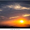 Zapadajúce slnko nad Zárubami
