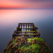 Calming Irish sea