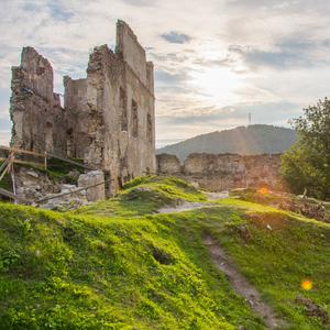 Hrad v Považskej Bystrici