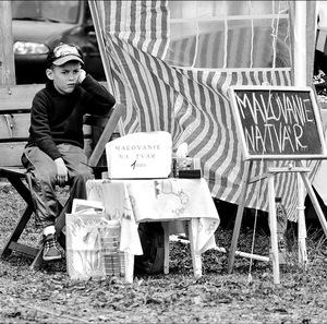 mladý obchodník