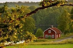Švédský venkov