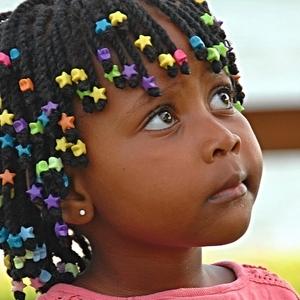 Holčička z Ugandy