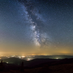 Milky Way from Kojsova Hola