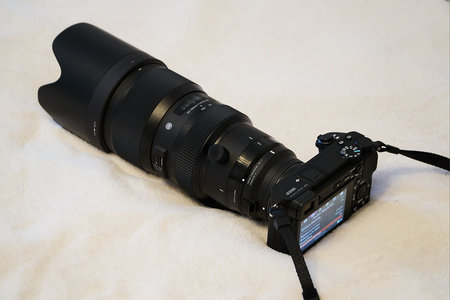 Sigma 50-100/1.8 na Sony a6x00
