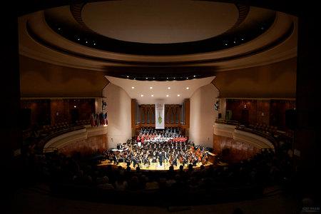 Fotenie koncertu klasickej hudby