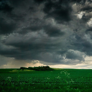 Dramatické mraky