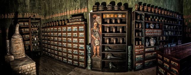 Lekáreň na hrade Červený kameň
