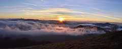 zapad slnka z revana