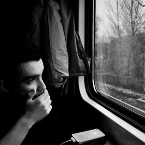 ...Cesta vlakom...