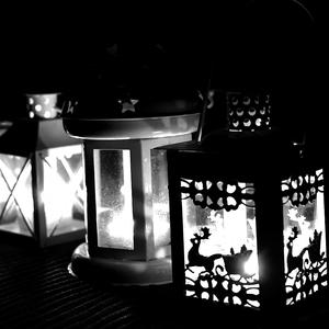 ...lampášiky...
