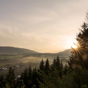 ...ráno v Zuberci...