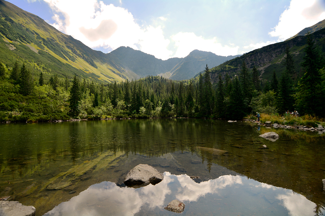 ...Ťatliakovo jazero...