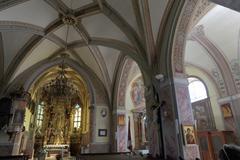 kostol v Starých horách