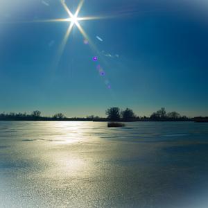 odlesk slnka