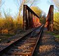 Most v jarnom šate.