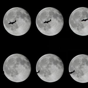 Měsíční přelet