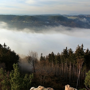 ...mlha v Ráji....
