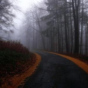 jesennou cestou