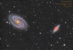 Galaxie M81 & M82