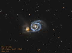 Vesmírna kolízia