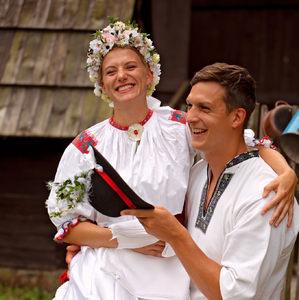Folklórna svadba Mariková
