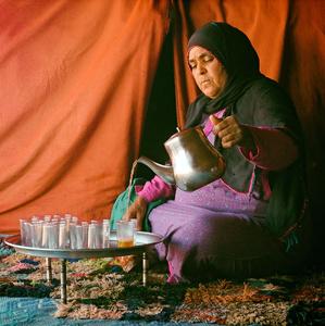 marocký čajový obřad