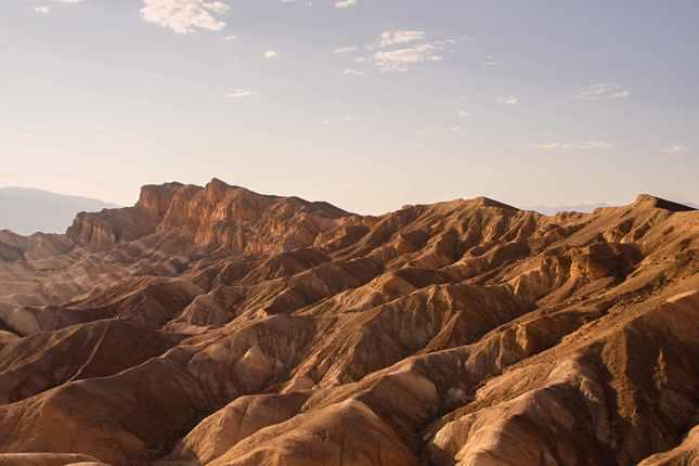 V údolí smrti