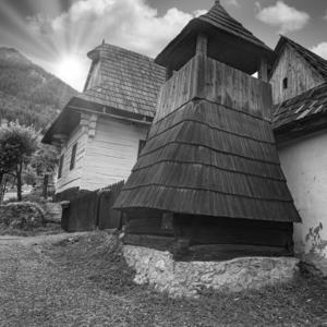 dedinka v horách