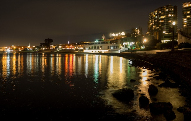 Zatoka v noci