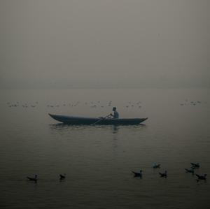 Slnko nad Gangou