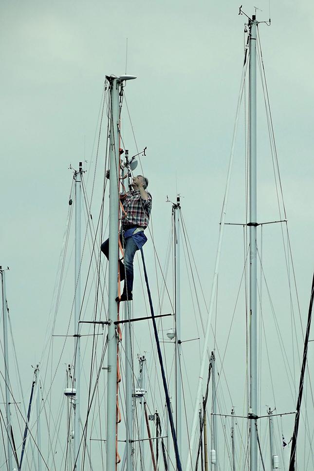Stěžně plachetnic