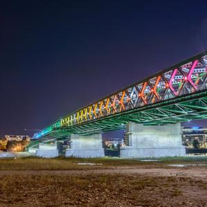 Farebny Stary Novy most