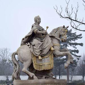 Jazdecká socha Márie Terézie
