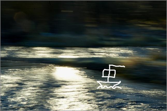 v prúde rieky
