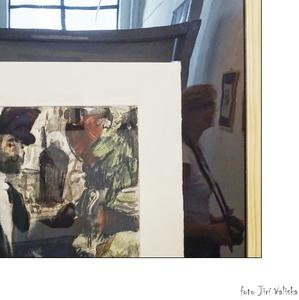 na výstave diela Edgara Degasa