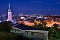 Svetlá nočného mesta