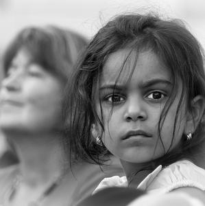 Rómske dievčatko