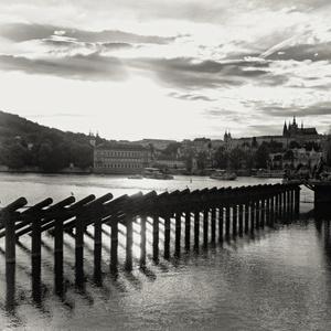 večer pri Vltave