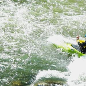na divokej vode