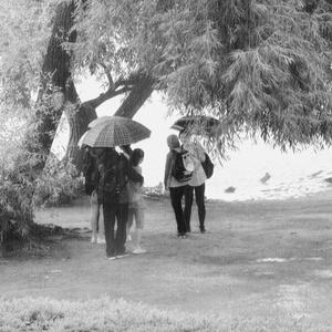 keď nenormálne prší