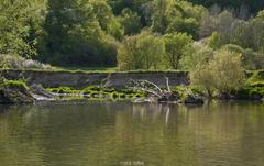 V údolí rieky.