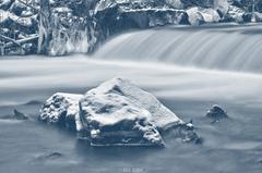 Ľadová kaskáda.