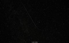 Padajúci meteor.
