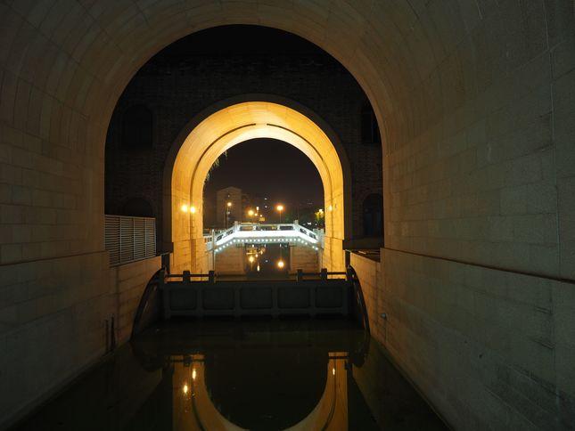 Kanál v hradbách
