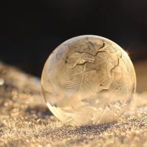 Ranná zimná bublina
