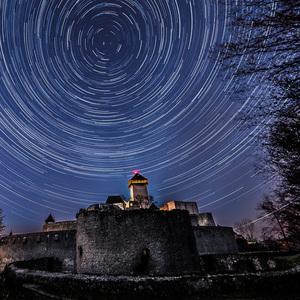 Trenciansky hrad pod Polarkou