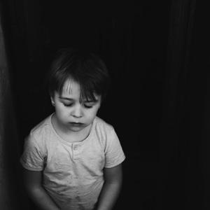 Alone in black&white world