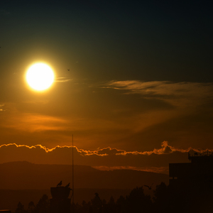 Západ slnka I